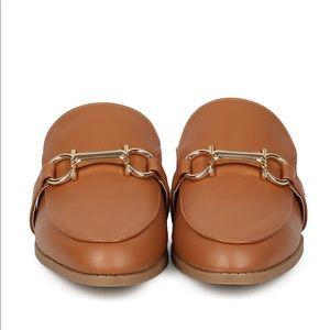 3e037e20ebfa Shoes - ➰ Faux leather mule horsebit ➰ cognac whiskey
